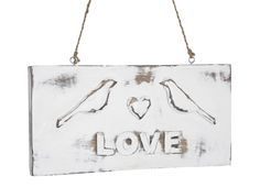 Perfect Wedding, June 2012 - Love Bird Sign