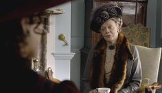Violet, Dowager Countess Grantham (Maggie Smith) Downton Abbey