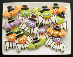 Silly Spider Cookies HR | Flickr - Photo Sharing!
