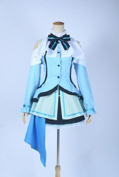 Love Live Lovelive Cosplay Eli Ayase Cosplay Costume Initial D School Idol Stage Dress Full Sets Halloween Carnival Costume Buy One Get One Free Home