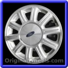 Ford Windstar 2000 Wheels & Rims Hollander #3409  #FordWindstar #Ford #Windstar  #2000 #Wheels #Rims #Stock #Factory #Original #OEM #OE #Steel #Alloy #Used