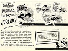 Fizemos uma seleção de 12 propagandas antigas do Mappin, que estaria celebrando 100 anos em novembro de 2013 se não tivesse fechado as portas em 1999. Confira!