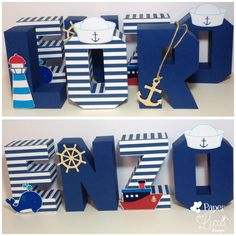69 Ideas for baby shower ides for boys decorations anchors wooden letters Sailor Party, Sailor Theme, Baby Shower Themes, Baby Boy Shower, Anchor Baby Showers, Deco Marine, Party Set, Shower Bebe, Baby Shawer