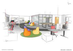 #LEO_VINCE HQ - Monticello d'Alba (Italy) | Concept design proposal for the new LeoVince HQ.  #Design_Stefano_Spinella 2015 #stefanospinella #stefano #spinella #spino #design #spinodesign #amsterdam #eginstill #concept