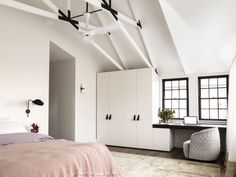 Decus Interiors Fairlight Residence Master Bedroom