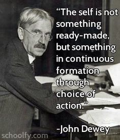 Psychology Quotes On Personality Love this john dewey quote Psychology Quotes, Personality Psychology, John Dewey Quotes, Inspiring Quotes About Life, Inspirational Quotes, Reading And Writing Project, Quotes To Live By, Me Quotes, Charles Spurgeon Quotes