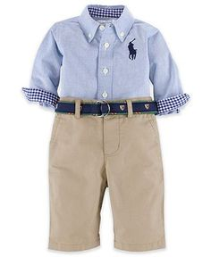Ralph Lauren Baby Long Sleeved Cardigan Baby Toddler Clothing