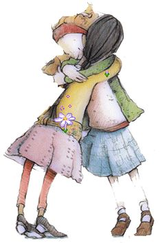 hugs ~ amazing what a little attention, kindness and human touch can do when the words just don't seem to be right.