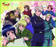 Hetalia: World Series Episode 45 English Dubbed | Watch cartoons online, Watch anime online, English dub anime