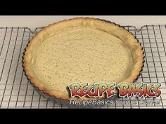 Sweet tart dough recipe / Sweet pie shell dough recipe:  Step by step instruction from start to finish. I'll show you how to make a delicious sweet crust for a lemon strawberry fruit tart !   Are you a mobile user ? Here are the video links you'll find at the end of this video: Lemon Strawberry Fruit Tart Recipe  http://youtu.be/dWiwvoyQz0U  Easy Lemon Curd Recipe: ( lemon tart filling ) http://youtu.be/iU8GG1XjEG0