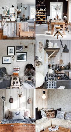 Obsessed with this Norwegian home!