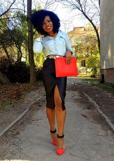 Abubaka from Nigeria ~ Fashion Bombshell of the Day