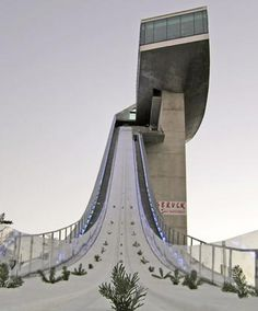 Zaha Hadid: 'bergisel ski-jump', innsbruck, austria, completed in 2002