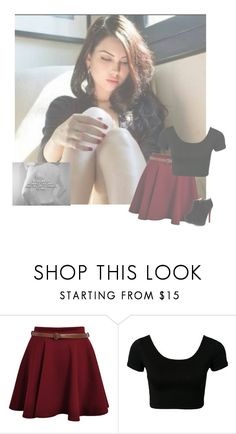 """""""Raven's OOTD"""" by be-you-anons ❤ liked on Polyvore featuring beauty"""