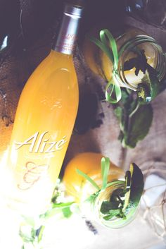 Spice things up with this Jalapeno-Mango Mojito made with #AlizeinColor by @BeingMelody