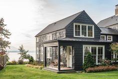 Sage Green Cape Shingle Siding With A Soft Grey Roof I