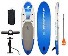 "PathFinder Inflatable SUP Stand Up Paddleboard Set 9' 9"" ... https://www.amazon.com/dp/B01G7CSLSM/ref=cm_sw_r_pi_dp_x_xtv2ybHM04WJH"