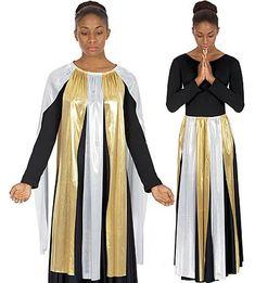 14808 Metallic Streamer Skirt or Top $24.75