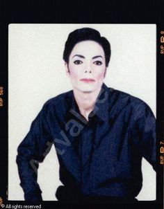 Arno Bani, Michael Jackson in Studio No 4, photoshoot 1999