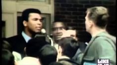 Muhammad Ali explaining why he did not support war.