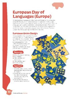 Use this lesson plan to celebrate the European Day of Language on 26 September. European Day Of Languages, 26 September, Greeting Cards, Watercolor, How To Plan, Watercolour, Watercolor Painting