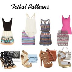 tribal patterns I like the first and second ones!