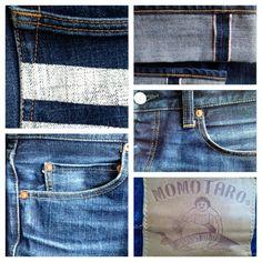 evolution of momotaro denim Momotaro Jeans, Just Style, Raw Denim, Denim Outfit, Joes Jeans, Workwear, Simple Designs, Blue Jeans, Evolution