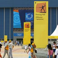 Olympic Look > my experiences in... > Athens 2004 · Welcome to The Olympic Design.com