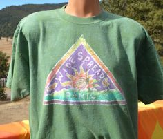 90s t-shirt vintage WIDESPREAD PANIC band concert by skippyhaha