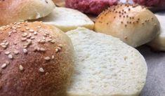 Kvásková houska na hamburger – vynikající i bez vajíčka! Kefir, Bread, Food, Essen, Buns, Yemek, Breads, Sandwich Loaf, Eten