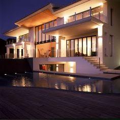 Home Exterior Designs: Lighting Exterior Home Design