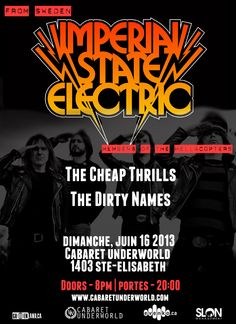 Imperial State Electric w/ guests | Wassap
