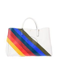 Anya Hindmarch Handbag In Beige Anya Hindmarch Handbags, Anya Hindmarch Fashion, Hand Bags, Shopping Bag, Studs, Beige, Tote Bag, Pattern, Handbags