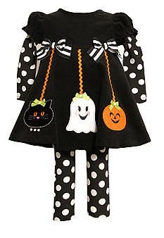 a28ab29947c Bonnie Jean® Halloween Set Toddler Girls #belk #kids Soooo cute! Gothic Baby