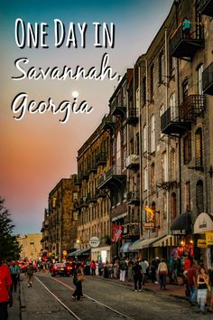 Travel to Savannah, Georgia: A one-day itinerary