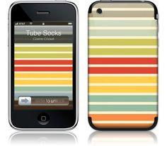 """GelaSkin for iPhone 3G - """"Tube Socks"""""""