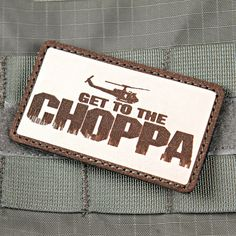 Get To The Chopper Predator Patch