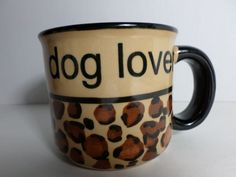Dog Lovers Coffee Mug Pet Rageous Designs Paw Prints