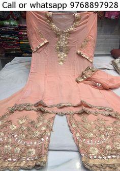 Desi Wedding, Wedding Wear, Pakistan Wedding, Sharara Suit, Designer Salwar Suits, Pakistani Dresses, Kurtis, Indian Outfits, Frocks