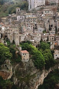 Volterra, Tuscany was part of our bicycle touring trip itinerary.