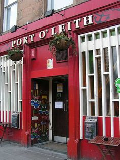 Port O Leith bar, Edinburgh - A wonderfully eccentric Edinburgh pub, ruled over by Mary Moriarty, arguably the most famous landlady in Scotland.