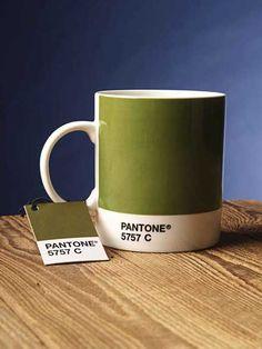 シンプルデザインで多色なマグカップ「Pantone mugs」: DesignWorks Archive