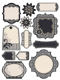 Free printable from paperwishes.com that goes with their White Truffle Paper Pack http://www.paperwishes.com/products/4104193