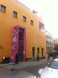 The Fashion and Textile Museum in Bermondsey, Greater London