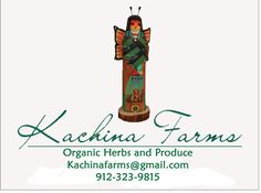 this is our logo for our farm . we grow herbs produce and plants we are organic Cert/through the state of Ga.