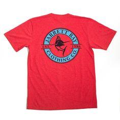 Logo Redline Bogue Sound Short Sleeve T-Shirt #fashion #newarrivals #jarrettbay #jarrettbayclothingco #boating #boatinglife #coastal