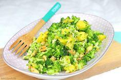 Daher habe ich für euch einen Brokkoli Mango Salat gewählt, der gesund ist, gut sättigt und trotzdem nicht zu viele Kalorien hat.