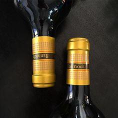 Capsule for Rannoch Farm  #haumannsmal #capsule #bronze #design #detail #labeldesign