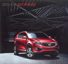2012 KIA Sportage LX EX SX Dealer Sales Brochure - Mint!