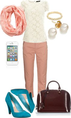 """""""summer business casual"""" by rebelsmile826 on Polyvore"""
